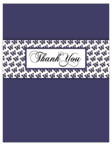 HK 13b - logo panel 'thanks'